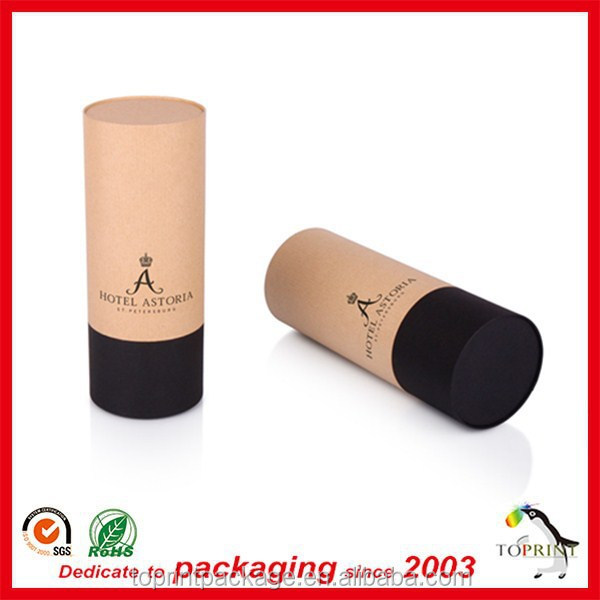 biodegradable cardboard round box tube crafts