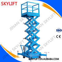 Skylift : man drive articulating towable aerial working platforms