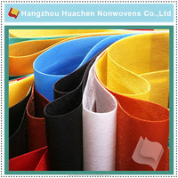 China fabric market wholesale sublimation pet non woven