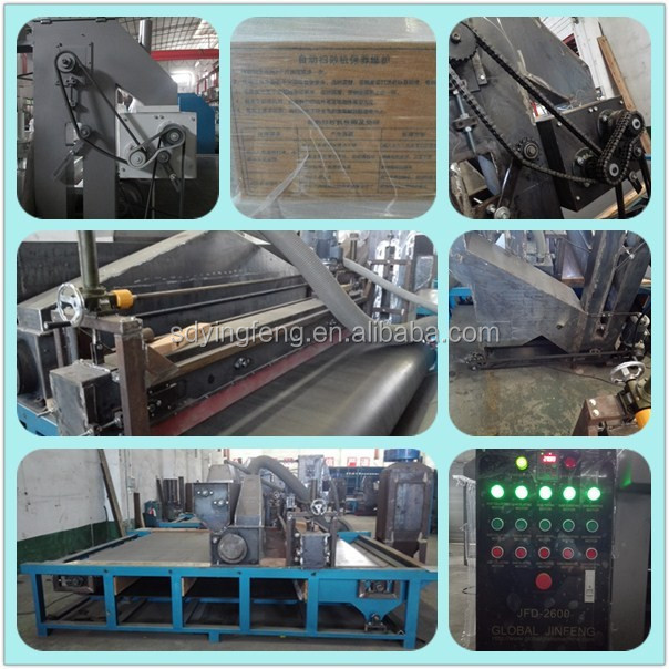 JFDS2600 Cheap price used hot sale horizontal automatically glass sandblasting machine