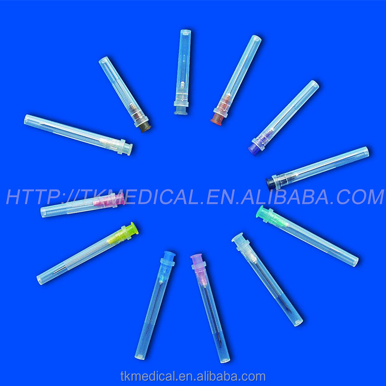 hot sale hypodermic saline injection needle