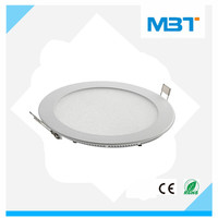 embedded type led panel light round series home lighting made in China