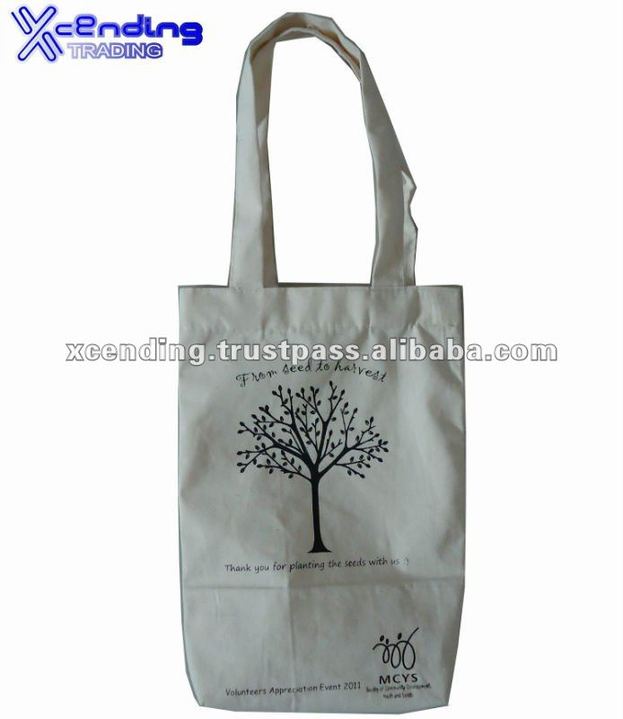 Xcending X-CB16 Durable Washable Tote Bag Canvas