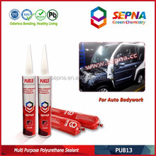 Multi Purpose Adhesive Sealant group Angle glue after drying transparent