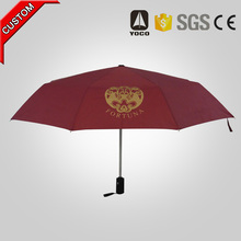 high quality delux advertising automatic cheap folding umbrella