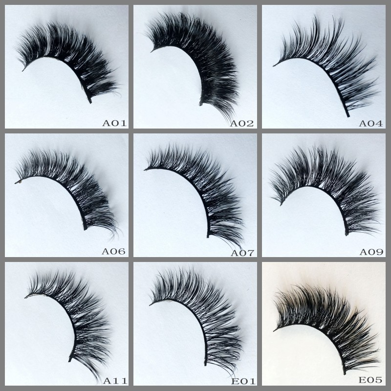 Mink eyelashes 3d mink lashes private label 100% Siberia mink fur