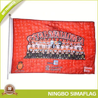 Long lifetime factory directly wholesale sports flags