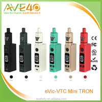 2015 Newest Joyetech eVic VTC Mini Kit with Tron Tank Changeable Battery and Magnetic Cover