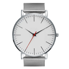 2017 new style hot sale stanless steel japan quart movement custom minimalist watches