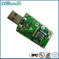 USB Charger Controller&Inverter PCB Assembly With Green Soldermask