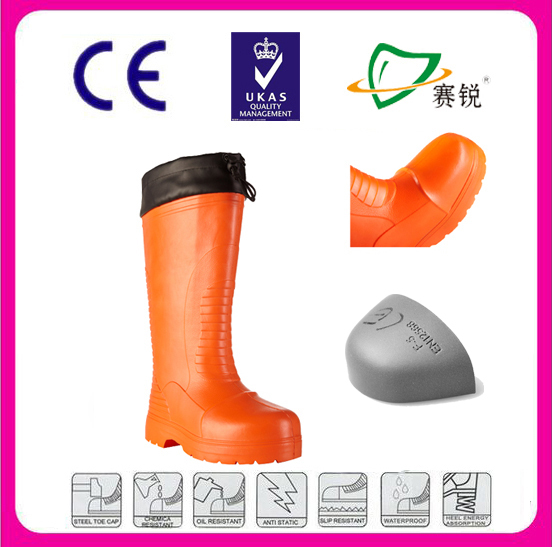 Ladies comfort footwear natural rubber waterproof boots