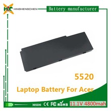 Wholesale ! High quality 5520 laptop battery for Acer TravelMate series