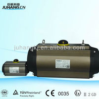 Pneumatic valve control with good quality
