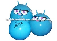 55cm kids bouncing Jumping Ball with Logo and handle.