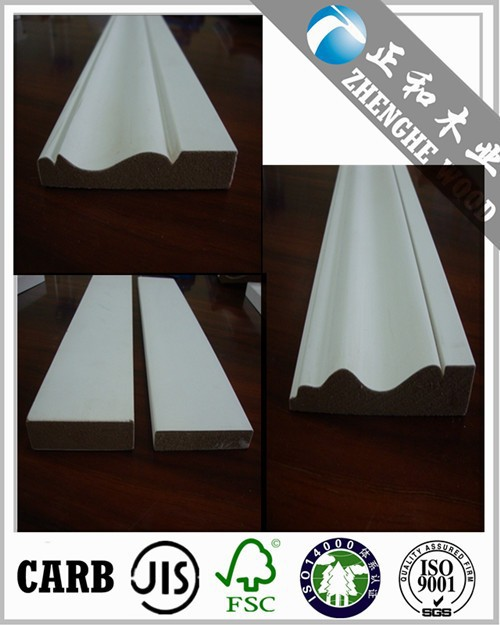 Surface White Wood Moulding