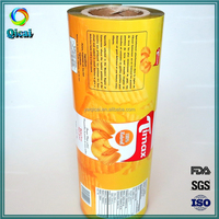 Chips bag packaging film roll plastic roll film laminating film