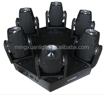 new product 6 heads/4 heads/3 heads 10w mini led beam wash moving head YS-220
