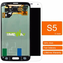alibaba china wholesale for samsung s5 i9600 g900 lcd + digitizer assembly