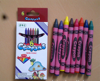 Crayola Classic Color Pack Crayons Wax 6 color customs printed crayon