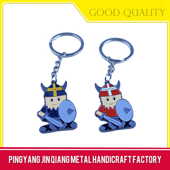 Souvenir use good quality owl keychain
