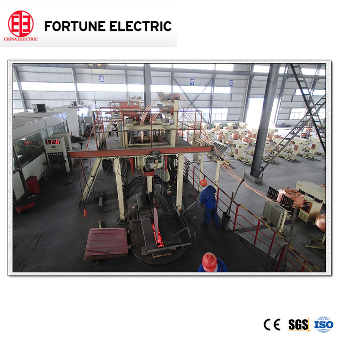 8mm copper wire rod upwards continuous casting machine