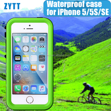 waterproof case for iphone,cheap price promotional gifts mobile phone case for iphone5 5s