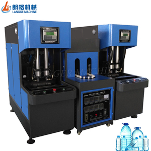 cost effective stretch plastic bottle semi-automatic job hot filling blow molding machine