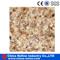 Chinese polished sunset gold cheap granite