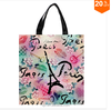 Retro Original Romantic Lip Eiffel Tower Paris Print individual Waterproof shopping Oxford Shopping Bag Recycle Shopping Bag