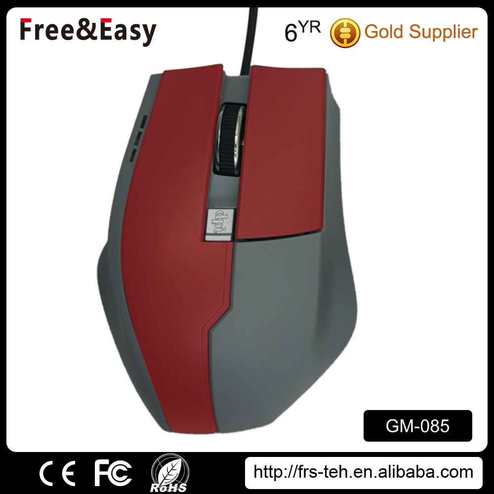 High quality OEM colorful optical wired professional gaming mouse