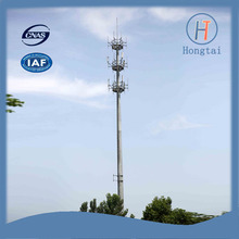70m height galvanized polygonal tapered mast tower