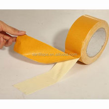 Double Sided Cloth Tape For Carpet Fixing and Seaming Strong Adhesive China Jumbo Roll