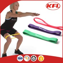 10 inches leg exercise latex fitness resistance band loop set for burn fat