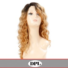 Factory price human hair extension, long human hair wig for women