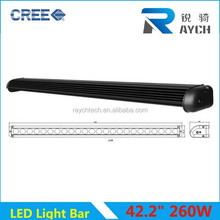 HOT newest and popular One Row 39 inch 240W 120w off road led light bar LED strip light,20W LED (2 x 10W LED) one row combo bar