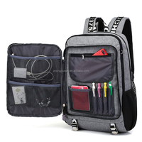 ZW603 usb High school student bag travel men's musical backpack large capacity