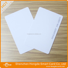 rfid blank card 125 khz id card with id numbering
