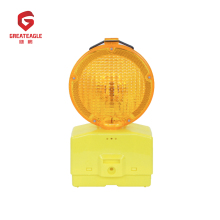 High visibility blinker battery powered warning lights battery operated traffic lights