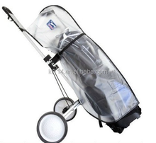 Custom Made High Quality PVC Transparent Golf Bag Rain Covers