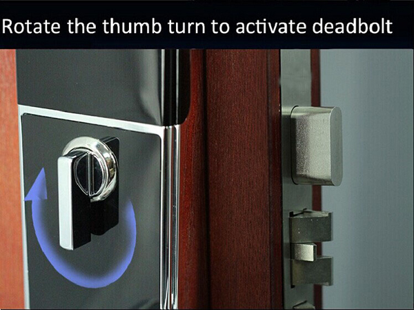 Smart home touch screen mortise door lock for euro market for 1 touch door lock