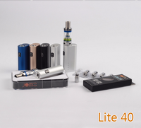 2016 new design e cigarette hong kong 40 watt e cig box mod