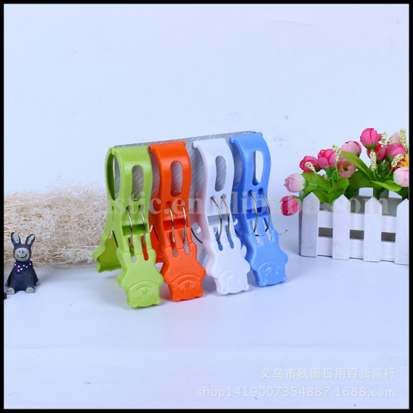 OEM Large strong fixed plastic Clothespin/plastic spring clip/plastic clothing peg manufacturer