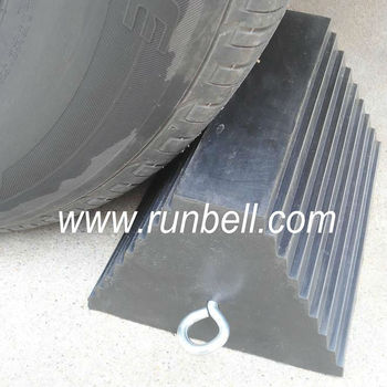 rubber truck tire wheel chocks