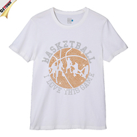 Basketball Custom Fashion Cotton Print T