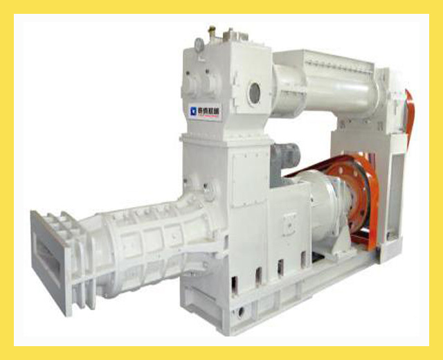 EII45-45 vacuum degassing extruder machine for terracotta pannel