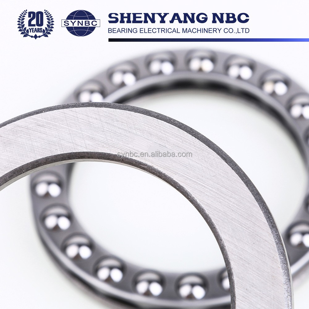 High Precision Stainless Steel Large Size Thrust Ball Bearing