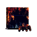 Hot Selling Full Body Decal Skin Sticker Cover for PS4 Console 2 Controller