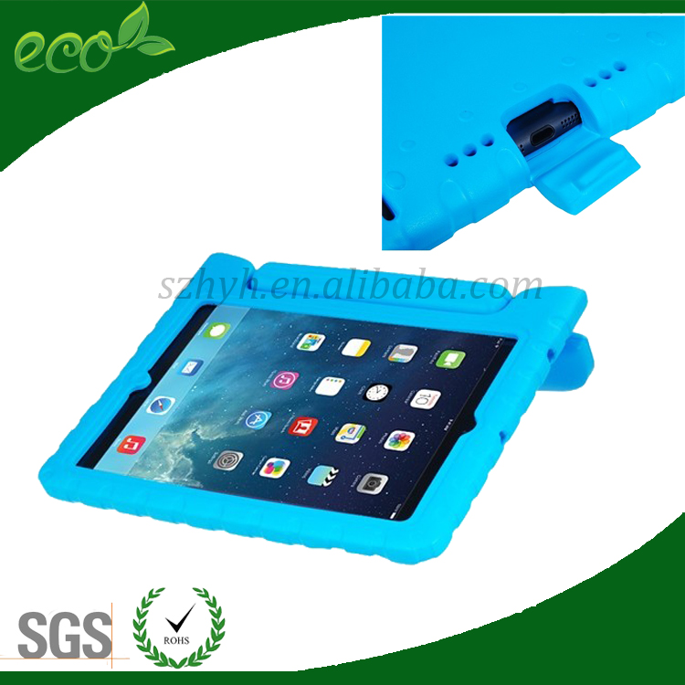 custom waterproof shockproof 10 inch rubber bumper case EVA tablet pc case for ipad air