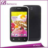 All china mobile phone models 4'' 800*480 HD screen dual core cpu support WIFI, BT very small mobile phone