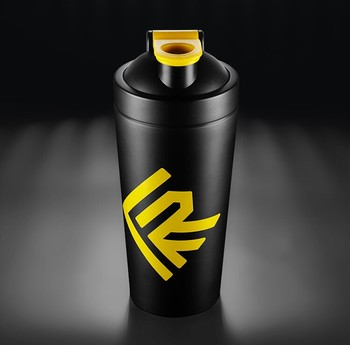 750ml matt stainless steel cup, Custom protein shaker bottle